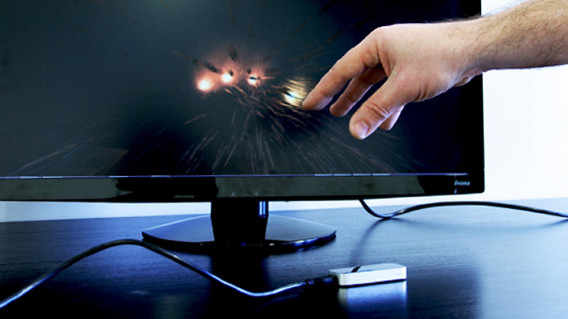 Leap motion et interfaces gestuelles 2013