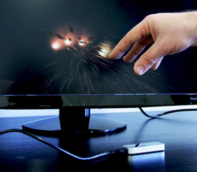 Leap motion et interfaces gestuelles 2013