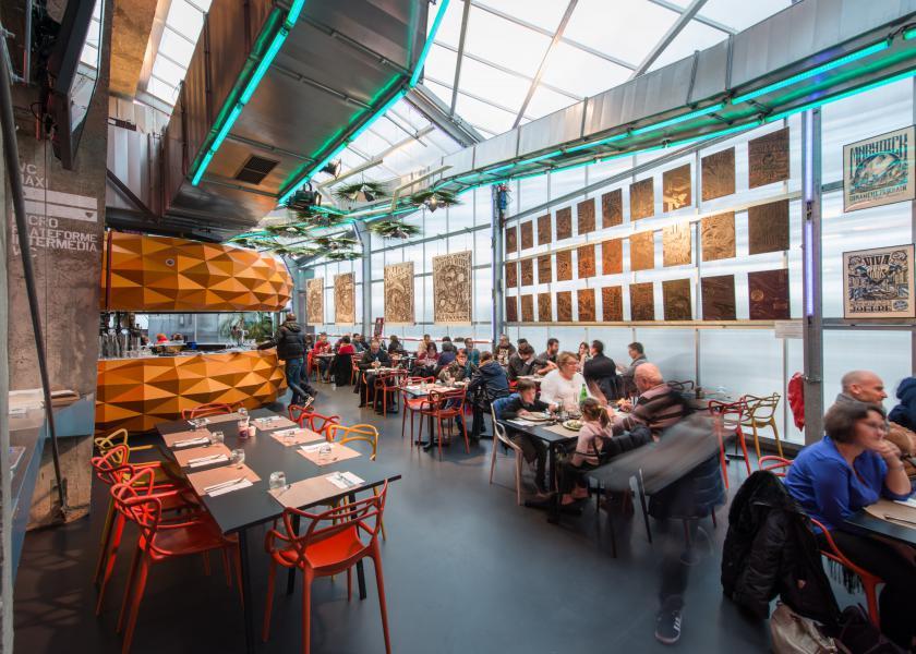 Bar brasserie restaurant Stereolux