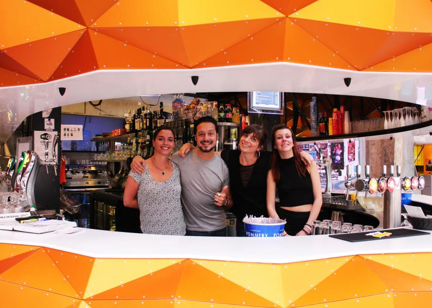 équipe bar Stereolux